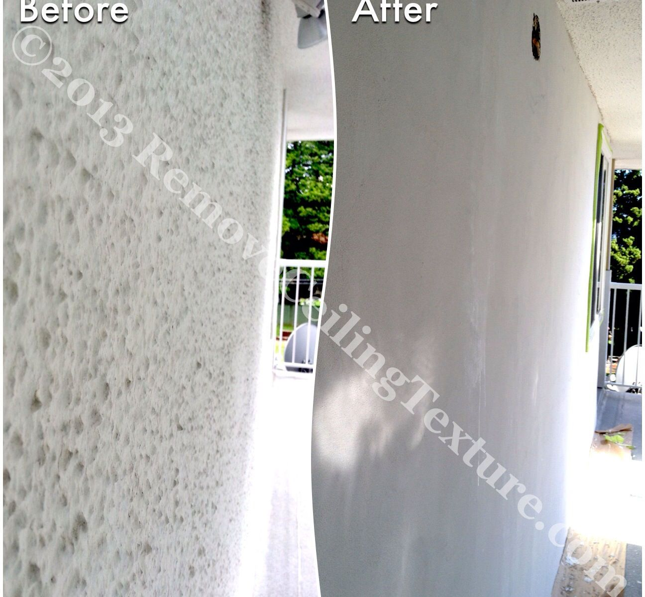 The homeowners said goodbye to their exterior stucco.