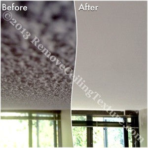 Popcorn Ceilings: Bedroom ceiling renovations at 3070 Guildford Way, Coquitlam