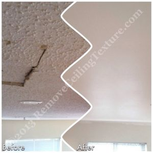 Ceiling refinishing and repair in Vancouver