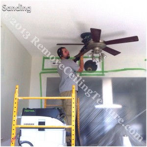 The Festool sander is German-engineered for the wall and ceiling industry
