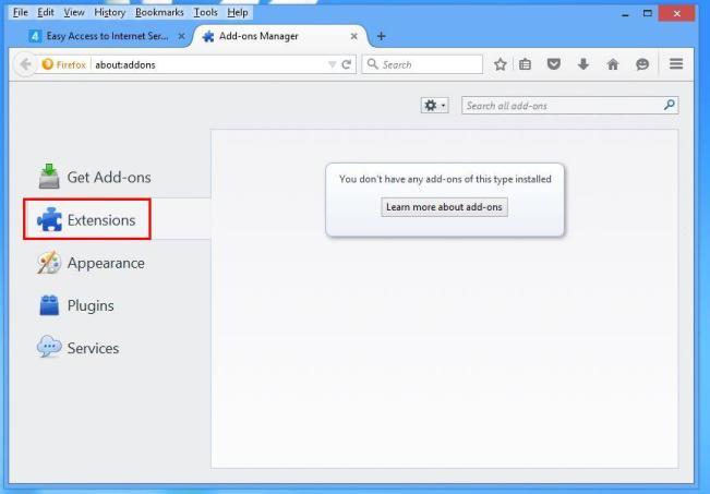 estensioni di Mozilla
