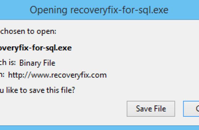 MDF Repair software