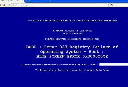 entfernen Sie Microsoft Error # Dw6vb36
