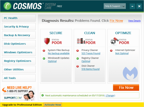 Elimina Cosmos System Care