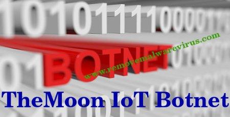 Löschen Sie TheMoon IoT Botnet