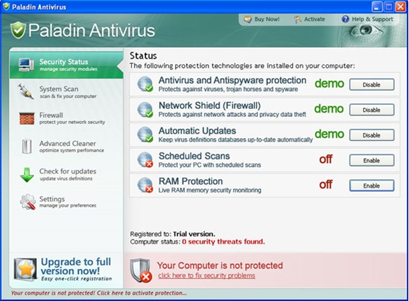 Paladin Antivirus