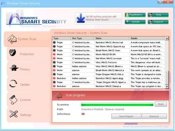 Windows Smart Security