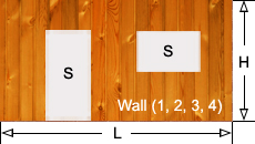 Paint Wall Rectangle Measurements Calculate