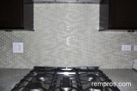 clear glass mosaic tile backsplash | Roselawnlutheran