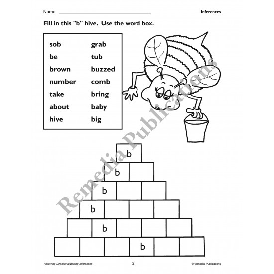 Primary Thinking Skills: Following Directions / Making