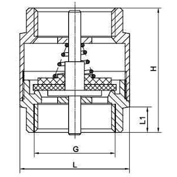 H12H/Y 1000 WOG Stainless Steel 304 / 316 Vertical Check