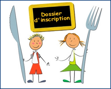 Inscription cantine