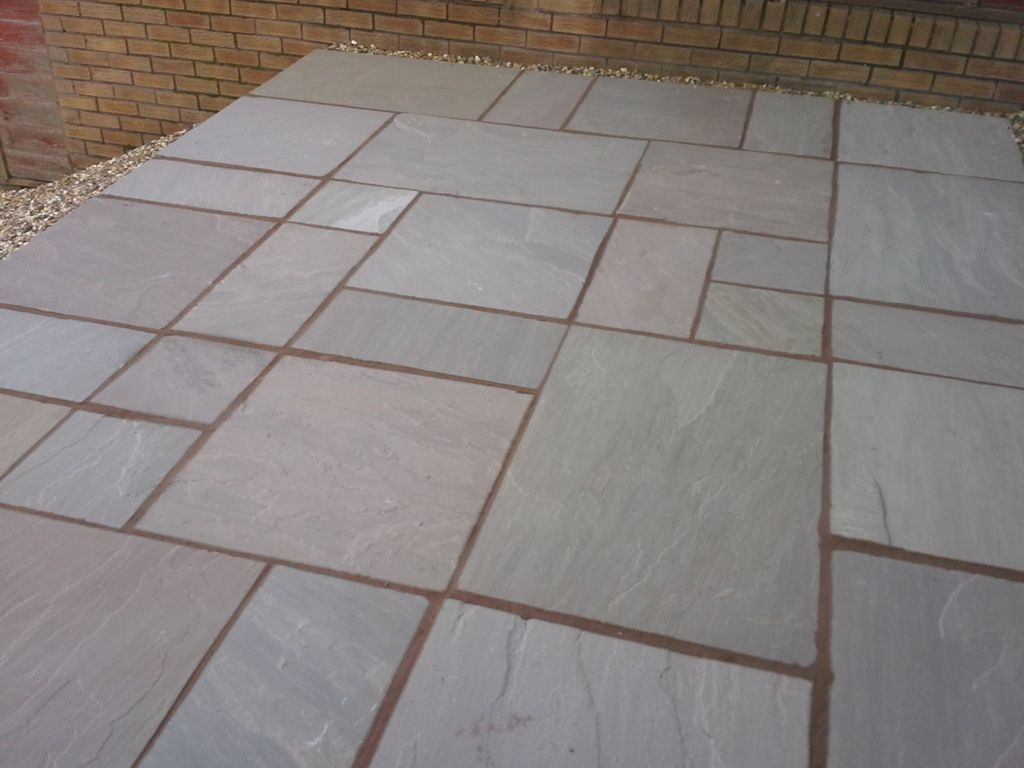 Raj Blend Natural Indian Sandstone  Choice of Hand Split or Calibrated