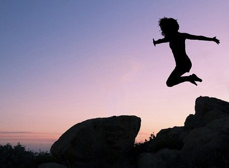 saltar soltar confiar