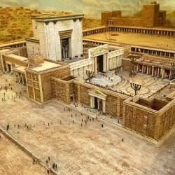 miniture model of king solomons temple