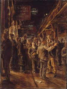 Reginald Marsh The Bowery 1930