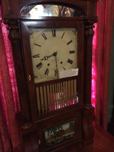 Penny whistle pipe organ clock