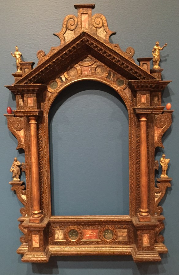 16th-century frame waiting for you to fill it