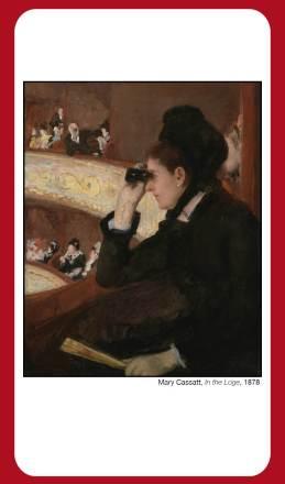 Cassatt, At the Opera