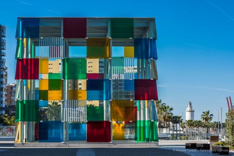 Centre Pompidou Malaga, 28 aprile 2015 - Nikon D810, 85mm (85.0mm ƒ/1.4) 1/200sec ƒ/5.6 ISO 64