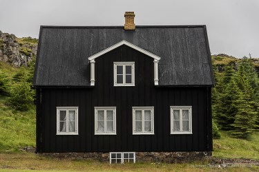 Nicoline Weywadt (1848-1921) one of the finest photographers in Iceland, lived here. Nikon D810, 100 mm (24-120.0 mm ƒ/4) 1/100 sec ƒ/5.6 ISO 64