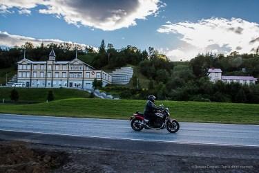 Akureyri Theatre Company, on the left. Nikon D810, 24 mm (24-120.0 mm ƒ/4) 1/500 sec ƒ/20 ISO 1250