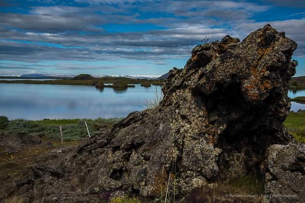 "In Icelandic, ""Lake Mývatn"" means ""lake mosquito"". Nikon D810, 44 mm (24-120.0 mm ƒ/4) 1/200 sec ƒ/8 ISO 64"
