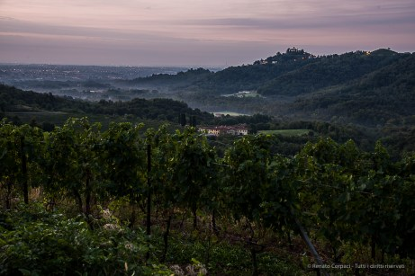 "H:06:55:28. The Galbusera Bianca Estate with the Montevecchia Sanctuary in perspective. Nikon D810, 50mm (24-120.0mm ƒ/4) 8"" ƒ/8 ISO 64"