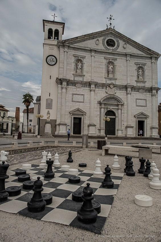 Palmanova, Duomo. Nikon D810, 24 mm (24.0 mm ƒ/1.4) 1/320 sec ƒ/4.5 ISO 64