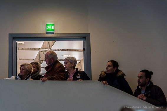 Full-house at a screening at the Iran Pavilion. Nikon D810, 66mm (24-120 ƒ/4) 1/80 sec ƒ/4 ISO 200