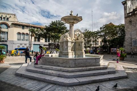 """Fuente de Los Leones, by Giuseppe Gaggini, in Plaza San Francisco de Asis. Nikon D810, 24 mm (24-120.0 ƒ/4) 1/500"""" ƒ/8 ISO 100."""