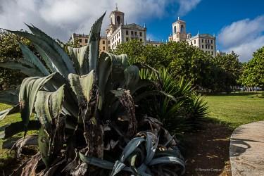 """Hotel Nacional, on Calle 23 (Rampa) and Malecón. Nikon D810, 24 mm (24.0 ƒ/1.4) 1/200"""" ƒ/8 ISO 200."""