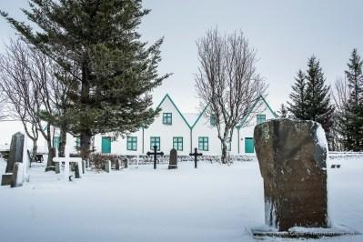 "The cemetery where national poets of Iceland Jónas Hallgrímsson and Einar Benediktsson are buried. Nikon D810, 24 mm (24.0 mm ƒ/1.4) 1/40"" ƒ/8 ISO 64"