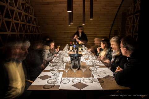 "Wine tasting room for ten. Nikon D810, 24 mm (24-120.0 mm ƒ/4) 3"" ƒ/8 ISO 64"