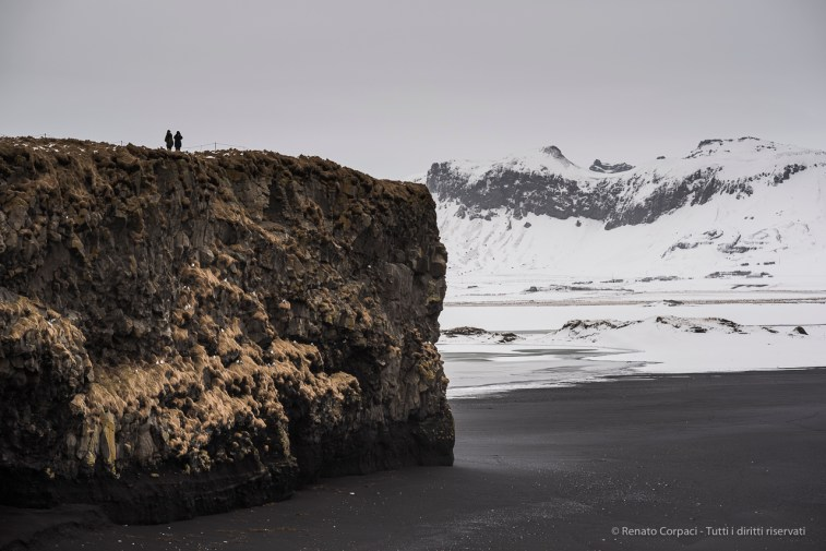 "The cliff overlooking the Black Sand Beach near Vik, Iceland. Nikon D810, 85 mm (85.0 ƒ/1.4) 1/100"" ƒ/3.2 ISO 64"