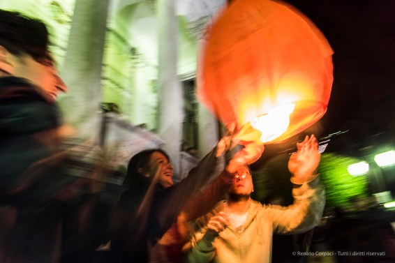 "Lantern launch in Como, June 2016. Nikon D810, 24 mm (24-120.0 mm ƒ/1.4) 1/4"" ƒ/8 ISO 3200"