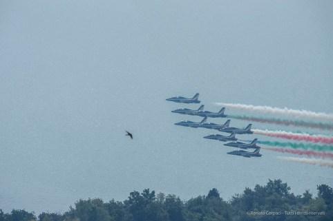 Air show. Manerba, Lake Garda 2016. Nikon D750, 400 mm (80-400.0 mm ƒ/4.5-5.6) 1/1600 ƒ/14 ISO 640