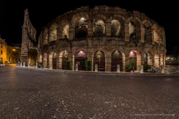 "After the performance: the Arena at night. Nikon D810, 16 mm (16.0 mm ƒ/2.8) 15"" ƒ/10 ISO 64"