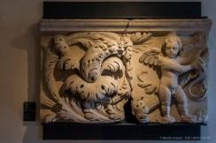 """Jacopo Sansovino, upper frieze from Palazzo della Loggia (1556-1562). Nikon D810, 44 mm (24-120.0 mm ƒ/4) 1/125"""" ƒ/5.6 ISO 2500"""