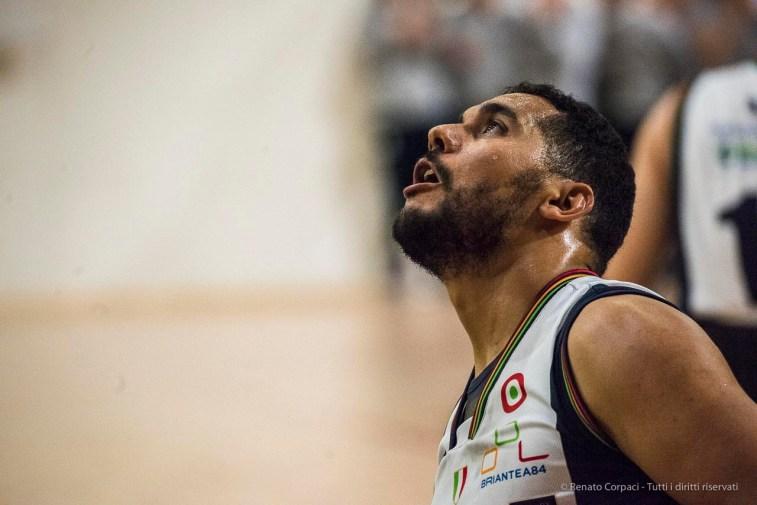 Ahmed Raourahi. November 5th, PalaFamila Seveso, Briantea84 UnipolSai Cantù-Santo Stefano Sport Banca Marche