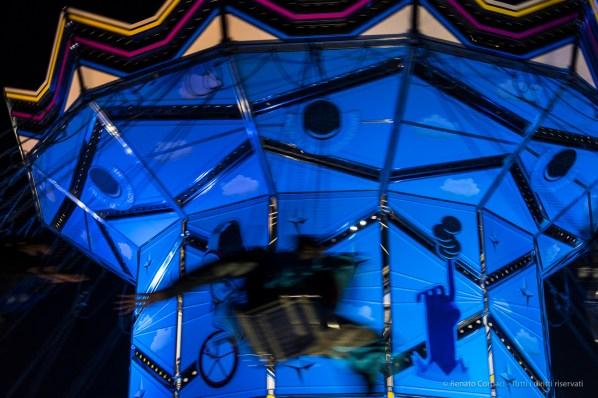 "Merry-go-round. Milano, Giardini Biblioteca degli Alberi, December 2016. Nikon D750, 46 mm (24-120 mm ƒ/4) 1/60"" ƒ/6.3 ISO 1000"