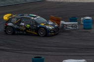 "Tony Cairoli and Matteo Romano on Citroen DS3 WRC 1.6 at the Monster Energy Monza Rally Show 2016. Nikon D810, 120 mm (24-120.0 mm ƒ/4) 1/500"" ƒ/8 ISO 2500"