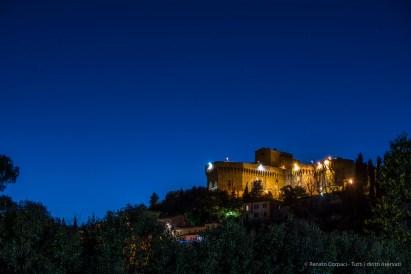 "Volterra, Fortezza Medicea. Nikon D750, 80 mm (80-400 mm ƒ/4.5-5.6) 20"" /8 ISO 100"