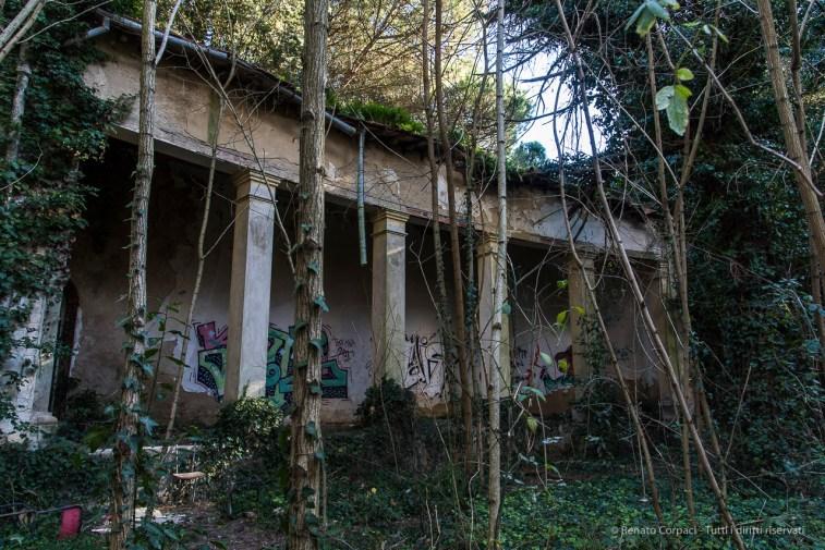 "Volterra, former psychiatric asylum, Maragliano Pavillion. January 2017. Nikon D810, 24 mm ( 24-120.0 mm ƒ/4) 1/6"" ƒ/8 ISO 64."