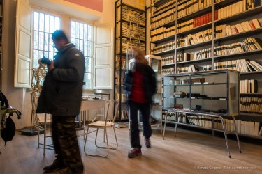 "Cesare Lombroso Museum, Volterra former psychiatric asylum San Gerolamo, January 2017. Nikon D810, 24 mm (24.0 mm ƒ/1.4) 1/3"" ƒ/2.8 ISO 64."