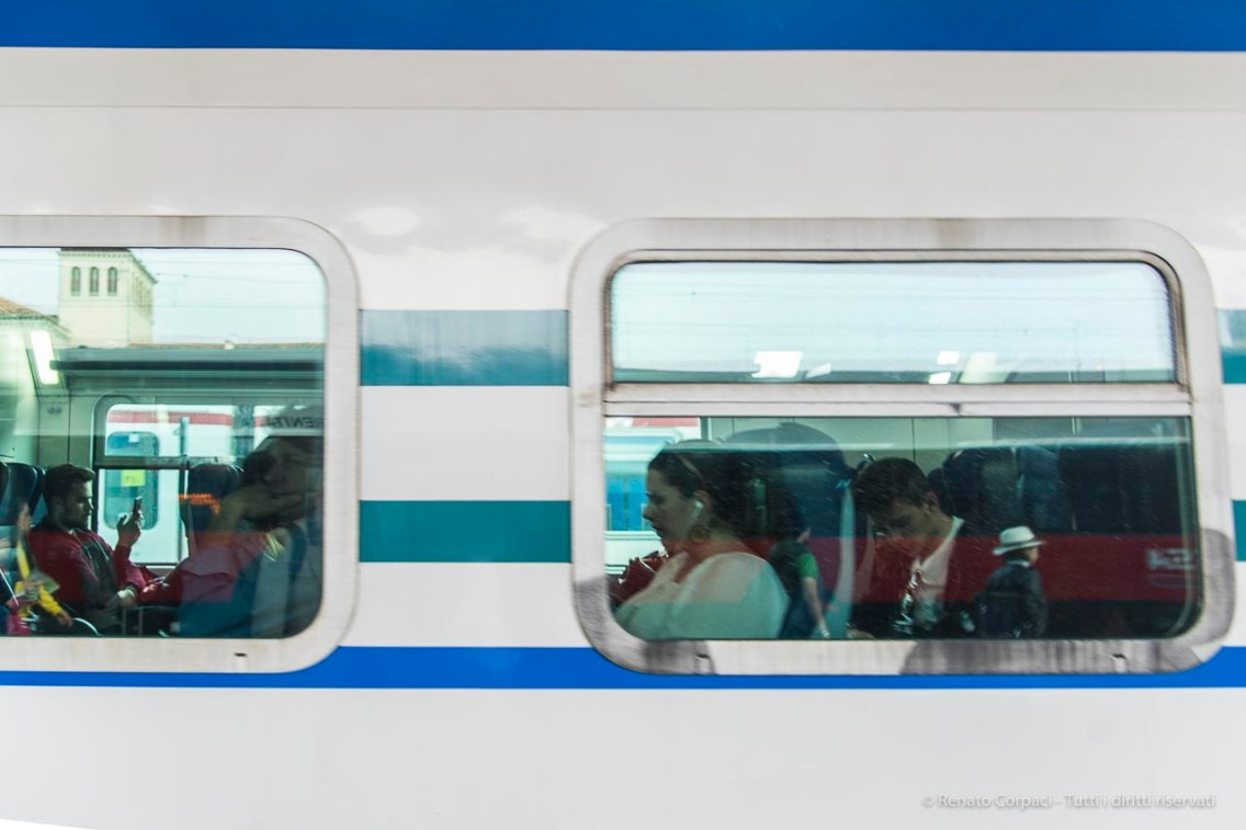 Bye-bye Venice. Train Station Piazzale Roma. Nikon D810, 98 mm (24.0-120.0 mm ƒ/4) 1/200 ƒ/6.3 ISO 64
