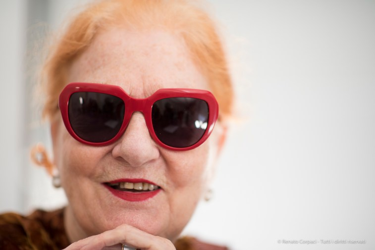 "Maria Mulas, photographer, Milano, May 2017. Nikon D810, 85 mm (85 mm ƒ/1.4) 1/250"" ƒ/1.4 ISO 400"