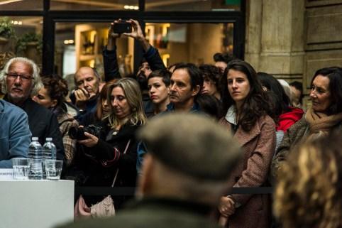 Giuliano Leone, photographer (left) Antonella Mezzani, photographer.