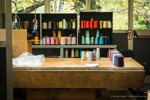 "Ottavio's work desk, to be moved inside the Company Museum. Nikon D810, 78 mm (24-120.0 mm ƒ/4) 1/100"" ƒ4 ISO 800"