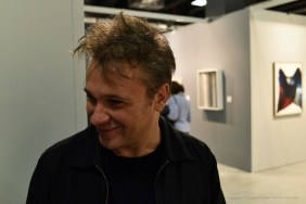 Max Papeschi, opening of GrandArt 2017. Milano, The Mall.